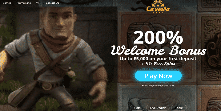 Casimba Casino promotion