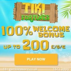 Tiki Fortune Casino Bonus And Review