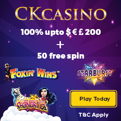 CK Casino Bonus And Review