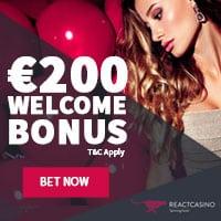 React Casino Bonus And Review