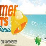 Summer Slots: $7,777 + 300FS - Sloto Cash