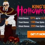 King Billy casino prepares for Halloween