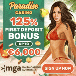Paradise Casino Bonus And Review
