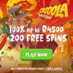 Casoola Casino Bonus And Review