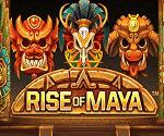 Rise Of Maya Netent Video Slot Game