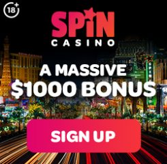 Spin Casino Banner - 250x250