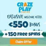 Craze Play Casino Bonus And Review