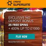 SuperWins Casino Bonus And Review