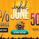 Slots7Casino - Joyful June Promotion