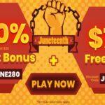 Slots Villa Casino - Juneteenth Promotion