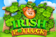 Irish Pot Luck Video Slot Banner - freespinscasino.org