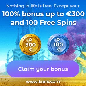 Tsars Casino Bonus And Review