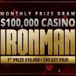 BetOnline Casino: $100,000 Monthly Prize Draw