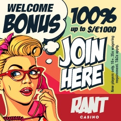 Rant Casino Bonus And Review