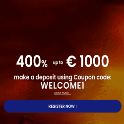 400% Up To €1.000