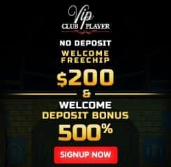 VipPlayer Casino Banner - 250x250