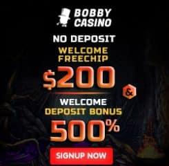 Bobby Casino Banner - 250x250