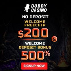 Bobby Casino Bonus And Review