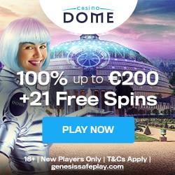 Casino Dome Bonus And Review