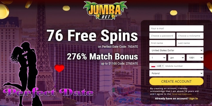 JumbaBet Casino promotion