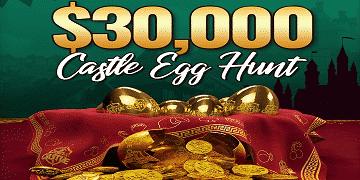 Casino Castle: $30,000 Castle Egg Hunt