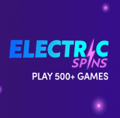 ElectricSpins Casino Banner - 250x250