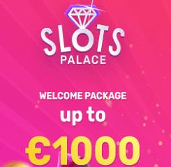 SlotsPalace Casino Banner - 250x250