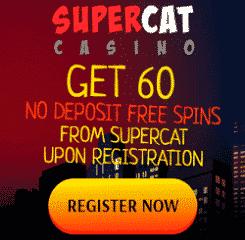 SuperCat Casino Banner - 250x250