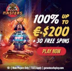 Masters Casino Banner - 250x250