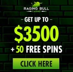 RagingBull Casino Banner - 250x250