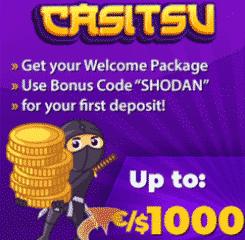 Casitsu Megaways Video Slot Banner - 250x250