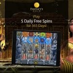 DaVinci's Gold Casino: 5 Daily Spins For 365 Days
