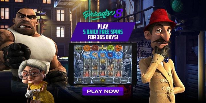 Paradise 8 Casino Promotion