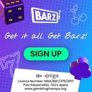 Barz Casino Bonus And Review