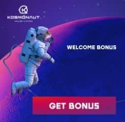 Kosmonaut Casino Banner - 250x250
