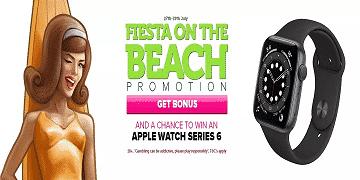CasinoLuck organizes a Fiesta on the Beach