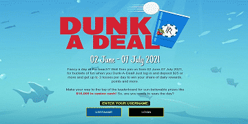 Dunk A Deal: $1500 in cash from Platinum Reels