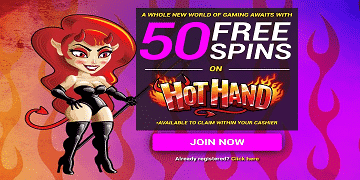 Vegas2Web Casino: 50 Free Spins -