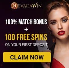 NevadaWin Casino Banner - 250x250