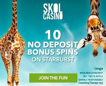Skol Casino  Bonus And Review