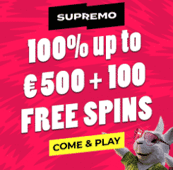Supremo Casino Banner - 250x250