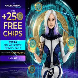 Andromeda Casino Bonus And Review