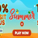 Summer at Bobby Casino: Bonus + Spins