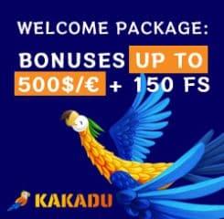 Kakadu Casino Banner - 250x250