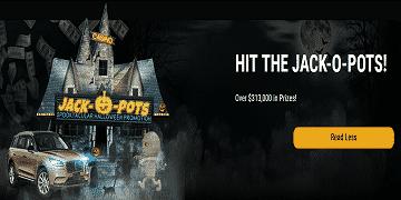 Hit the Jack-O-Pots with Jackpot Wheel!