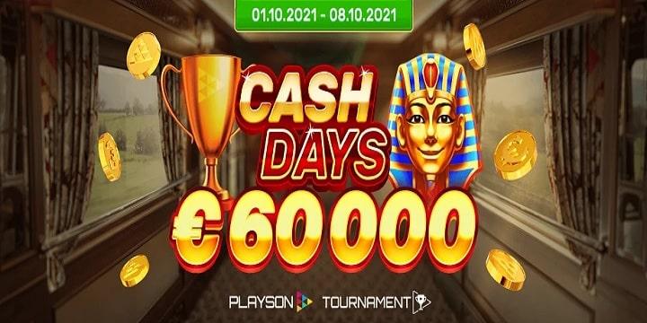OrientXpress Casino: €60K Playson Tournament